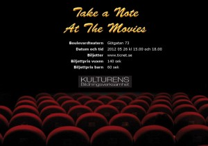 Take a Note at the movies