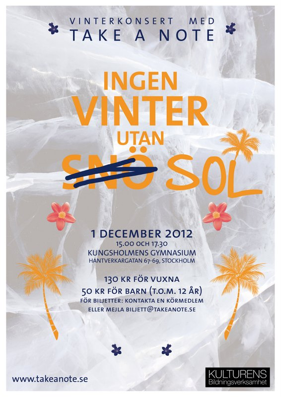 Ingen vinter utan sol 2012