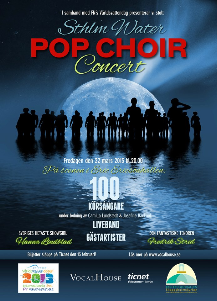 Sthlm Water POP CHOIR Concert